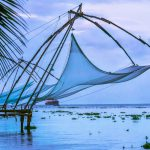 Chinese Fishing Net, Kochi Fort Beach, India